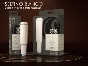 24x Seltino BIANCO - water filter for Jura coffee machine, compatible with Jura Claris White