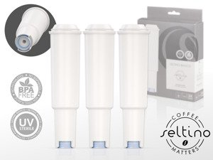 8x tripple pack of Seltino BIANCO - water filter for Jura coffee machine, compatible with Jura Claris White